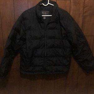 Eddie Bauer Men's Puffer Jacket - Medium Tall